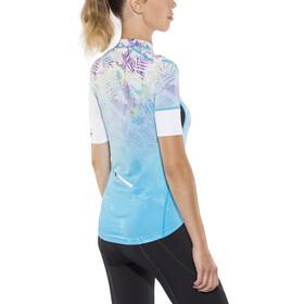 Protective HP Tropical Mask Maillot à manches courtes avec zip complet Femme, horizon